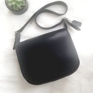 🌷Vintage Coach NYC Saddle Bag Bonnie Cashin 9170